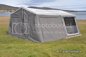 Main Tent With Annex &#45; Windows Closed