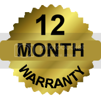 12 Month Warrantee
