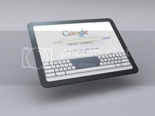 Conceito Google Tablet PC